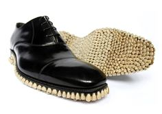 1 | Enjoy Your Nightmares! Shoe Soles Made Of Dentures And Other Gritty Ephemera