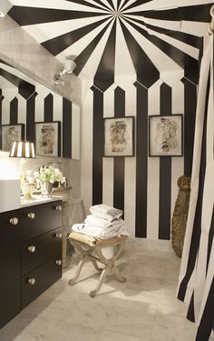 Night circus themed room
