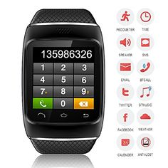 S12 Smart Bluetooth Wrist Watch for Android Smart Cell Phone (Partial Function for Iphone)-black (black) Tech http://www.amazon.com/dp/B00VXE5UN4/ref=cm_sw_r_pi_dp_LsWCvb134JD90