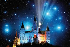 Night of the Comets - Burg Hohenzollern