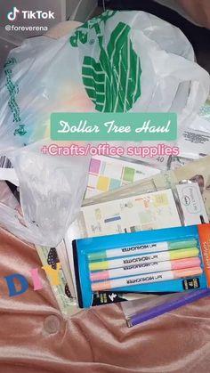 Dollar Tree Haul, Dollar Tree Finds, Dollar Tree Decor, Dollar Store Crafts, Dollar Stores, Best Amazon Buys, Amazon Home Decor, Dollar Tree Christmas, Cute School Supplies