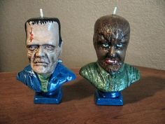 1970s Rapco Famous Monsters candles