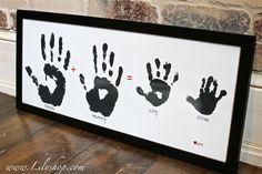 Lilyshop | Baby Handprints Forever