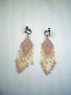 work026 beaded earrings
