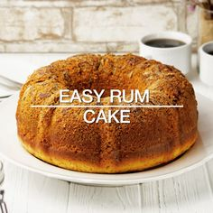 Easy Rum Cake Dessert Recipe with pecans, yellow cake mix, instant vanilla pudding . - Deserts - Easy Rum Cake Dessert Recipe with pecans, yellow cake mix, instant vanilla pudding . Dessert Cake Recipes, Cake Mix Recipes, Easy Desserts, Baking Recipes, Delicious Desserts, Rum Cake Recipe Easy, Yellow Cake With Pudding Recipe, Yellow Cake Recipes, Vegetarian Recipes
