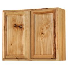 Kitchen Classics�30-in H x 36-in W x 12-in D Denver Hickory Double Door Wall Cabinet