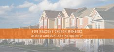 The local church is what God has used as His primary instrument to make disciples. But commitment is waning among many church members.