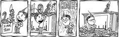Lio on GoComics.com #humor #comics #Christmas
