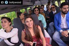 @BOLLYWOOD  The Housefull 3 team travelled in a Bus  to the trailer launch venue @Bollywood    . #bollywood #india #indian #desi #bollywoodactress #mumbai #bollywoodfashion #bollywoodstyle #bollywoodmovie #indianfashion #indianstyle #housefull3 #jacquelinefernandez #nargisfakhri #akshaykumar #twinklekhanna #lisahaydon #riteshdeshmukh #geneliadsouza #abhishekbachchan #aishwaryaraibachchan #aishwaryarai @BOLLYWOODREPORT  @BOLLYWOODREPORT  . For more follow #BollywoodScope and visit…