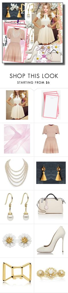 """set 61"" by fahirade ❤ liked on Polyvore featuring Ben's Garden, Alexander McQueen, DaVonna, Fendi, Dsquared2, Rosantica and ban.do"