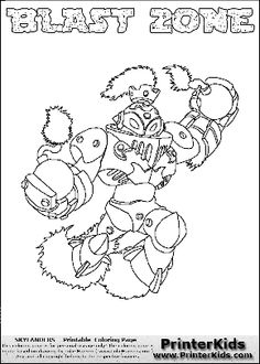 Krypt King Coloring Page
