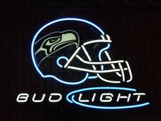 Neon Beer Sign Bud Light NFL Seattle Seahawks #1: 6cf7035a88f f5687a5a539d6e44