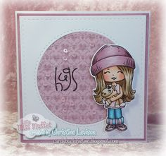Handmade by Christine: Adorable! Love the layout!