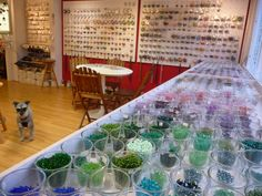 Stuff UK How did I not know about this Oxford shop? Tucked away off Holloway St in Cowley- it does workshops in silversmithing too! Amy Surman bead shop in Oxford, Oxfordshire White Stuff Uk, Jewelry Shop, Jewellery, Bead Shop, Amy, Glass Vase, Workshop, Oxford, Beads