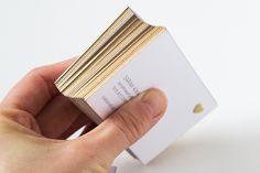 DIY GOLD EDGED CARDS