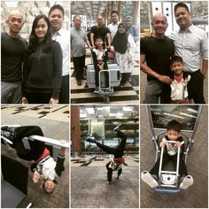 It's always sad to say to #goodbye although #sendoff by #thefamily makes it special also. The little one takes every opportunity to show off! #changi #changiairport #changiairportt3 #lafamiglia #lafamilia #singapore #singaporetrip #myfamily #mytravels