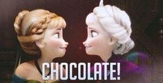 Literally the most realistic Disney princesses ever! They were awkward and loved chocolate :)
