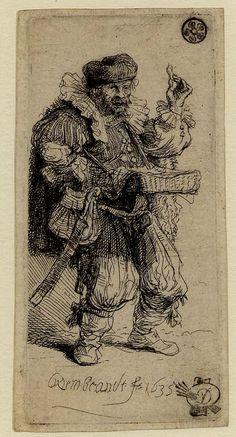 Rembrandt. The Quacksalver. 1635