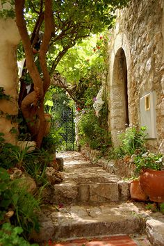 ~~Eze Village ~ Cote d'Azur, France by synnwang~~ cidade de Jean Paul The Places Youll Go, Places To Go, Beautiful World, Beautiful Places, Beautiful Scenery, Provence France, Eze France, South Of France, Visit France