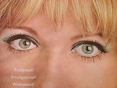 Vintage Print Ad Helena Rubenstein Cosmetics Eye by retrovisions, $8.00