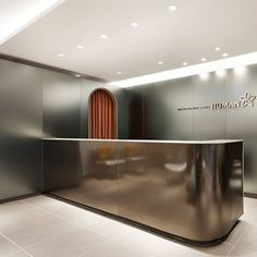 포트폴리오 Corporate Interior Design, Corporate Interiors, Office Interiors, Retail Design, Lobby Interior, Retail Interior, Interior Architecture, Reception Desk Design, Reception Counter