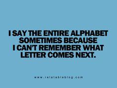 actually quite often .....
