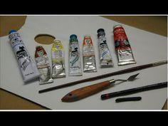 Pintura a óleo com espátula-Parte I - YouTube