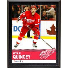"Kyle Quincey Detroit Red Wings Fanatics Authentic 10.5"" x 13"" Sublimated Plaque - $23.99"