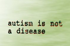Not a disease....not contagious...