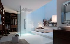 diseño habitación con ducha - Buscar con Google
