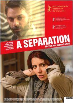 A SEPERATION - 2011 - NADER UND SIMIN - EINE TRENNUNG - FILMPOSTER A4