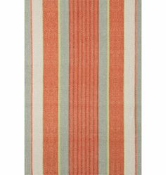 Rejuvenation Kitchen: autumn stripe rug