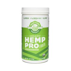 a6a62f06e Manitoba Harvest Hemp Protein Powder - HempPro Fiber. Whole 30 VeganFitness  NutritionNutrition ...