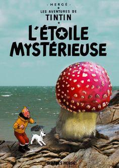 Les Aventures de Tintin - Album Imaginaire - L'Étoile Mystérieuse Neil Young, Nostalgia, Album, Cartoon, Comics, Cover, Dogs, Comic, Artists