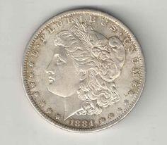 1884 O Morgan Silver Dollar $1.00 Coin United States - Key Date - You Grade It!