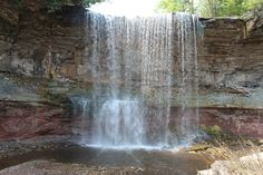 Indian Falls Conservation Area near Owen Sound, Ontario