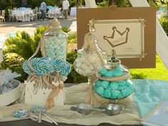 Ιδέα για τραπεζι με γλυκα κ βιβλιο ευχων Wedding Decorations, Wedding Decor