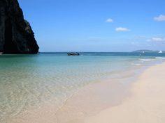 Boat sailings form Phuket to Ao Nang in Andaman Sea.