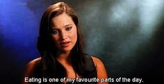 …to the stuff that matters! | 21 Times Jennifer Lawrence Totally Nailed The Whole Interview Thing