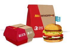 Tudo em nome da paz mundial. O Burger King está propondo ao McDonald's um cessar-fogo – quer unir forças no dia 21 de setembro, quando é celebrado o Dia Internacional da Paz, e criar o McWhopper, uma combinaçao do Big Mac e do Whopper. A rede de fast-food veiculou hoje anúncios de página inteira no …