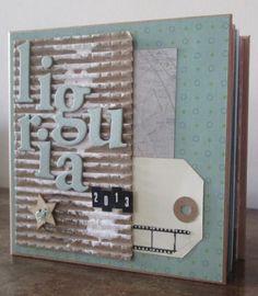 Mini album fantASIa Blog: I progetti inediti del DT - #2: Anna - tutorial