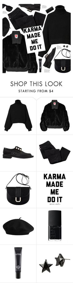 """""""karma made me do it"""" by valentino-lover ❤ liked on Polyvore featuring Diesel, House of Fluff, Coliàc Martina Grasselli, Karen Walker, Avon, A.P.C., NARS Cosmetics, MAC Cosmetics and Betsey Johnson"""