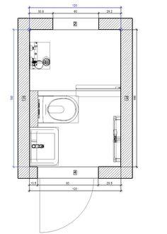 Badideen für kleine Bäder - BÄDER SEELIG Small Shower Room, Small Showers, Small Bathroom, Modern Drawers, Bathroom Floor Plans, Bathroom Flooring, Beach Cottage Kitchens, Mini Bad, Small Bathrooms