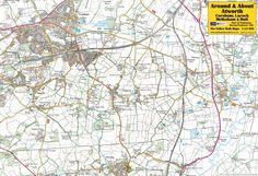 Atworth, Corsham, Lacock, Melksham & Holt - front of the map