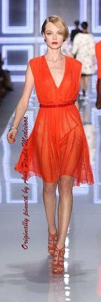 Christian Dior ~ little red dress