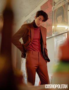 StyleKorea — Nam Joo Hyuk for Cosmopolitan Korea December Korean Men, Asian Men, Asian Actors, Korean Actors, Nam Joo Hyuk Cute, Nam Joo Hyuk Lee Sung Kyung, Ji Soo Nam Joo Hyuk, Jong Hyuk, Joon Hyung