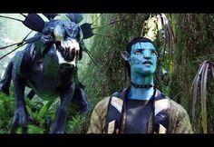 Zoe Saldana and Sam Worthington in Avatar New Avatar Movie, Avatar Film, Avatar 3d, James Cameron, Michelle Rodriguez, Zoe Saldana, Stephen Lang, Cgi, Titanic