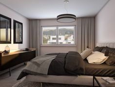 Bed, Furniture, Home Decor, Architecture Visualization, Real Estates, Floor Layout, Bed Room, Decoration Home, Stream Bed