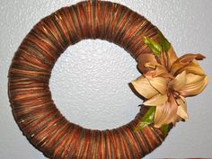 Wreath - Fall Inspiration on Etsy, $20.00