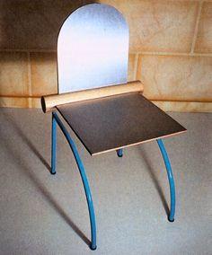 Andrea Branzi, Derby Chair, Circa 1980